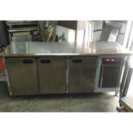 二手6尺冷藏工作台冰箱