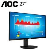 【27型】AOC U2790VQ 4K IPS液晶顯示器/4K/IPS/10 bit/HDMI2.0*2/DP/低藍光/不閃屏