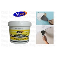 V-tech 460 Instant Putty Filler 1.5 kg (White) Wall Dinding Filler Putih