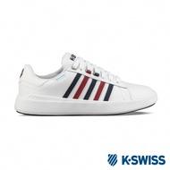 K-SWISS Pershing Court 超輕量防水鞋-女-白/藍/紅