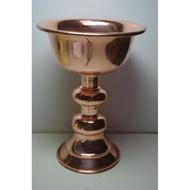 紅銅酥油燈杯7*9公分