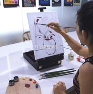 繪畫套裝 油畫顏料套裝專業溫莎牛頓油畫顏料初學者入門油畫工具套 交換禮物 雙十二購物節