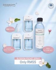 [NEW Arrivals] BLOSSOM Pocket Spray Sanitizer Set [50ml x 3btl + 330ml refill FREE Funnel]**READY STOCK