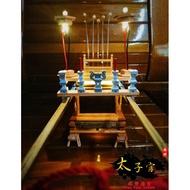 🔥福利品素面雙色武轎🔥 原價5800 模型廟會 迷你神轎 武轎《西螺太子宮 模型廟會》