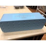 二手/ MINISO 藍芽喇叭➕贈全新1.5M音源線 (附原廠充電線&音源線)