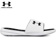【UNDER ARMOUR】UA 男 Playmaker Fixed Strap 拖鞋_3000061-102(白)