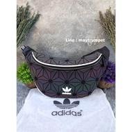Adidas Originals Urban 3D Mesh Waist Bag (ISSEY MIYAKE Style Shoulder Bag) [Colo