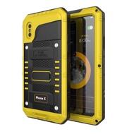 Watherproof กันกระแทกฝุ่นหลักฐานกรณีโทรศัพท์สำหรับ Apple Case เคส iPhone 6/7/8/บวก iPhone X/XS iPhone XR/ iPhone XS MAX
