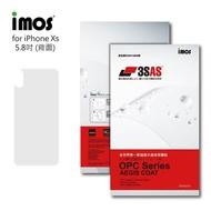 【iMos】Apple iPhone X/Xs(3SAS 背面保護貼)