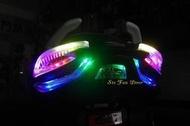 『六扇門』免運 五代戰 幻彩KOSO尾燈組 LED 尾燈 小燈 煞車燈 跑馬 方向燈 幻彩 車尾燈 五代 勁戰 七彩 變