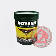 Original Boysen Permacoat Latex White Paint For Concrete and Stone 16LITERS (TIN/PAIL)