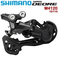 SHIMANO DEORE RD-M4120 MTB Rear Derailleur 10/11 Speed SGS Long Cage MTB Bike Rear Derailleurs