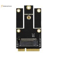 M.2 NGFF到Mini PCI-E轉換器適配器用於M.2 Wifi Wlan藍牙卡Intel AX200 9260