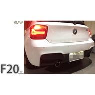 小傑車燈精品--全新 寶馬 BMW F20 前期 M-TECH P牌 雙邊單出 後保桿 後大包
