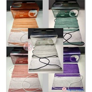 [Ready Stock] Easy Care Adult COLOR 3 Ply MASK BFE -95- Disposable Headloop