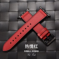 PZOZสำหรับ Apple Watchiwatch6สายรัดapplewatch5หนังรุ่นapple watch4สายนาฬิกาseries3หนัง/s6/s5/s4/2ใส่ได้ทั้งชายและหญิงse44mm