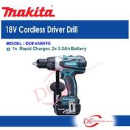 MAKITA DDF458RFE 13 Mm (1/2″) 18V Cordless Driver Drill