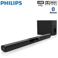 Philips HTL2163B 120 watt Soundbar Speaker 120W 2.1 HOME THEATRE CINEMA SOUNDBAR SPEAKER SUBWOOFER