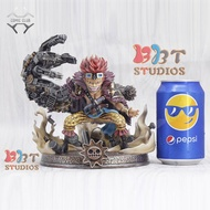 instock one piece sd version 19cm Kid Pirates gk resin statue Figure for Collection.