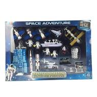 免運 兒童航天模型飛機合金20件套裝仿真火箭髮射塔宇航員航空玩具禮物