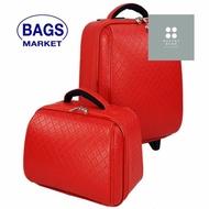 ร้านแนะนำWheal กระเป๋าเดินทางล้อลากเซ็ทคู่ แม่ลูก 18/14 นิ้ว Chanel Classic (Red) กระเป๋าใบใหญ่