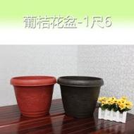 百貨通 葡桔花盆-1尺6(3入)