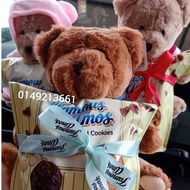 [8.8 SALE] Famous Amos From 117g TEDDY and COOKIES  and any Famous Amos cookies gift tin gift box surprised