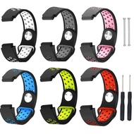 適用佳明手錶Garmin Forerunner 235 220 230 620 630 735XT通用手錶帶硅膠錶帶