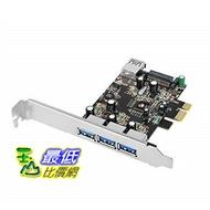 [8美國直購] SIIG USB3.0擴充卡 Legacy & Beyond JU-P40611-S2 Superspeed DP 4 Ports PCI-e to USB 3.0 High Performance Adapter Card