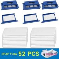 [nis-beauty] 52Pcs Pollen Filter Foam Reusable forRespironics-Dreamstation CPAP/BiPAP Machine
