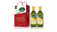 【Olitalia奧利塔】頂級葵花油禮盒2組(1000ml2罐/組;共4罐)