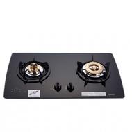 (含標準安裝)林內【RB-2GMB_LPG】美食家雙面檯面爐黑色與白色(與RB-2GMB同款)瓦斯爐桶裝瓦斯