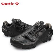 SANTIC MTB Rotating ButtonShoes For Eggbeater Shimano SPD System