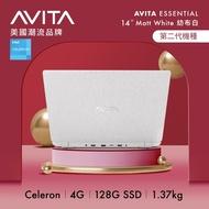 AVITA Essential NE14A2TWC43A-MW 14吋筆電 (N4020/4GB/128GB SSD/W10/白)