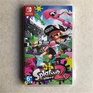 【HG電玩】全新未拆 NS 任天堂 Nintendo Switch 漆彈大作戰 2  日文版  美版 歐版 英文版本可選