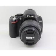 【青蘋果】 Nikon D5100 機身+ Nikon 18-55mm鏡頭 二手數位單眼相機 #DE081