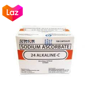 Authentic 24 Alkaline C 100 caps PROMO SALE   alkaline c based non acidic vitamin c, vitamins for weight gain, multivitamins for kids and adults, 562.43 mg, FDA approved 100% ORIGINAL safe and effective  