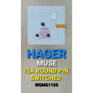 [Shop Malaysia] HAGER MUSE 15A AND 16A SOCKET OUTLETS