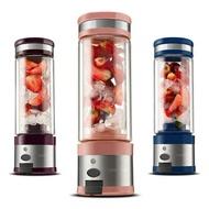 動榨汁機迷你便攜USB充電式玻璃小型炸果汁機榨汁杯WD   電購3C