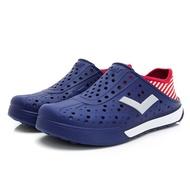 PONY 中性 洞洞鞋  ENJOY 02U1SA04-深藍RD