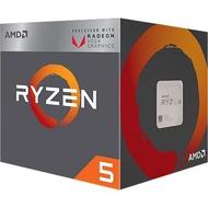 全新 含發票 AMD Ryzen AM4 R5-2400G 四核心 代理商 盒裝 R5 2400G CPU 處理器