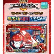 韓國玩具 迷你特攻隊 賽米面具套組 MiniForce