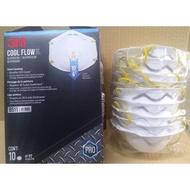製造日期2020.03 3m n95 拋棄式 非醫療級 防塵口罩 8511 10入 costco 代購 好市多