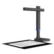 Shine Ultra Portable 13MP Book Scanner Flatten Curve Technology Capture Max A3 Document Fast Scan for Office Library School