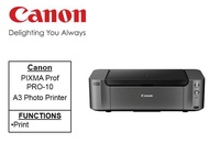 [Singapore Warranty] Canon PIXMA PRO-10 ***Free $40 NTUC Voucher and PT-101 Platinum A4 Photo paper 2 packs Till 8th Nov 2020 (WALK-IN-REDEMPTION by 30th Nov 2020 at Canon Customer Care Centre***