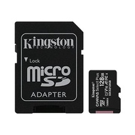 Kingston Micro 128G U1 C10 A1附轉卡(讀100MB)