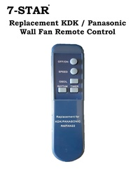 Replacement KDK / Panasonic Wall Fan & Stand Fan Remote Control
