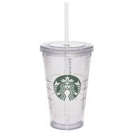 Starbucks Tumbler With Straw, 16 oz