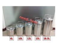 自釀好物--24.5L全新keg啤酒可樂桶氮氣咖啡
