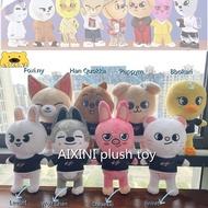 【Fast delivery!】Kawaii Cool Skzoo Doll Skzoo Pillow Skzoo Plush Toys Skz Plushie Jiniret Wolf Chan Leebit DWAEKKI Jiniret HAN Quokka BbokAri PuppyM FoxI.Ny for Kids Fans Gifts Cute Skzoo Plushie Birthday Present